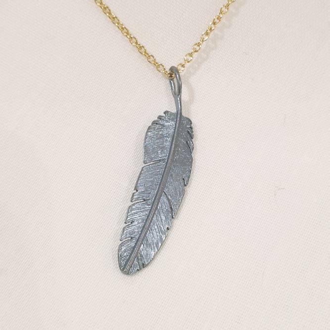 Bilde av Feather anheng, oksydert