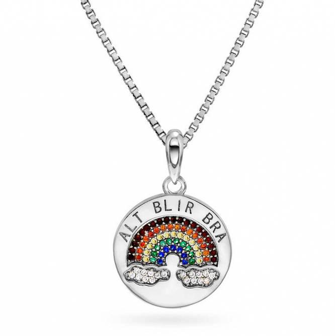 Bilde av ALT BLIR BRA! smykke, sølv