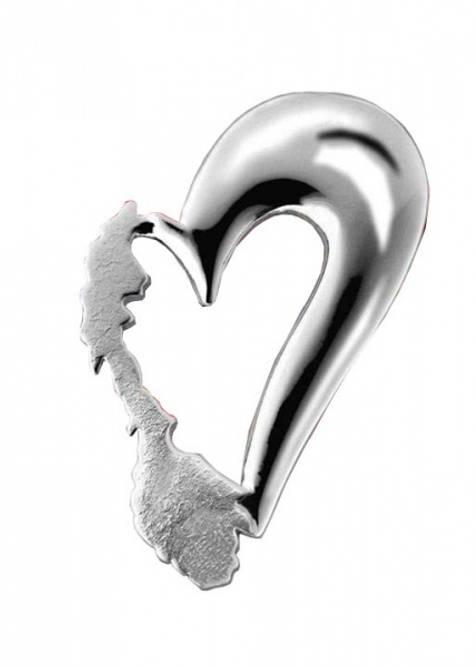 Bilde av Norges hjerte, pin